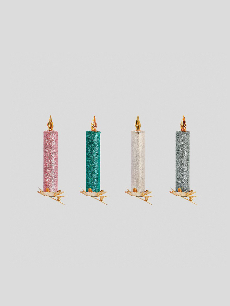 Candle on Clips – Set of 4