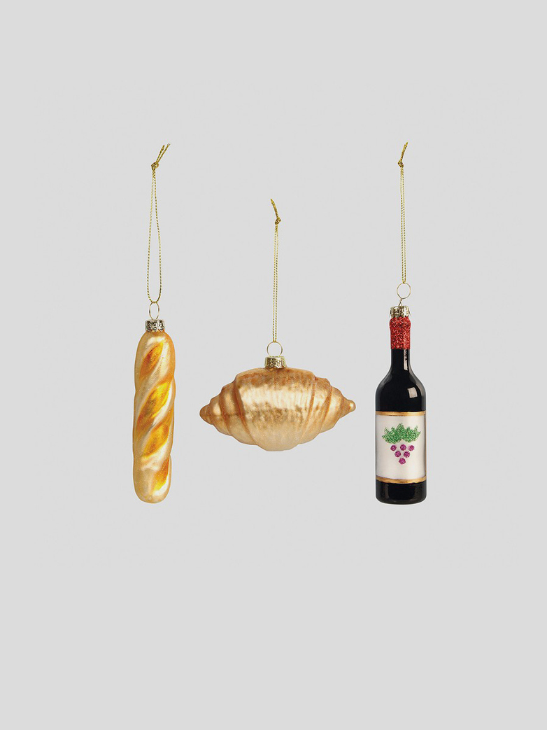 France Ornament – Set of 3
