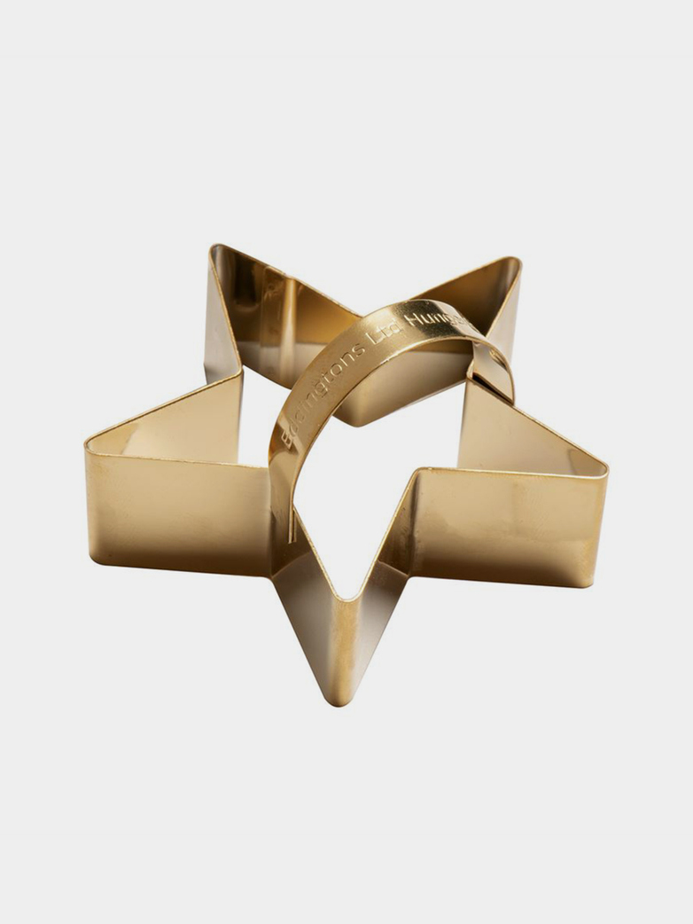 Star Cookie Cutter – Brass