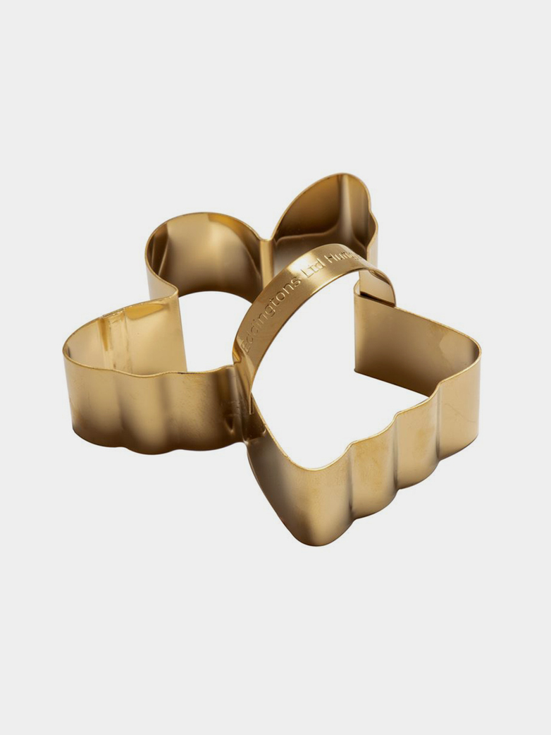 Angel Cookie Cutter – Brass