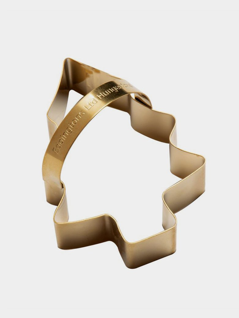 Christmas Tree Cookie Cutter – Brass