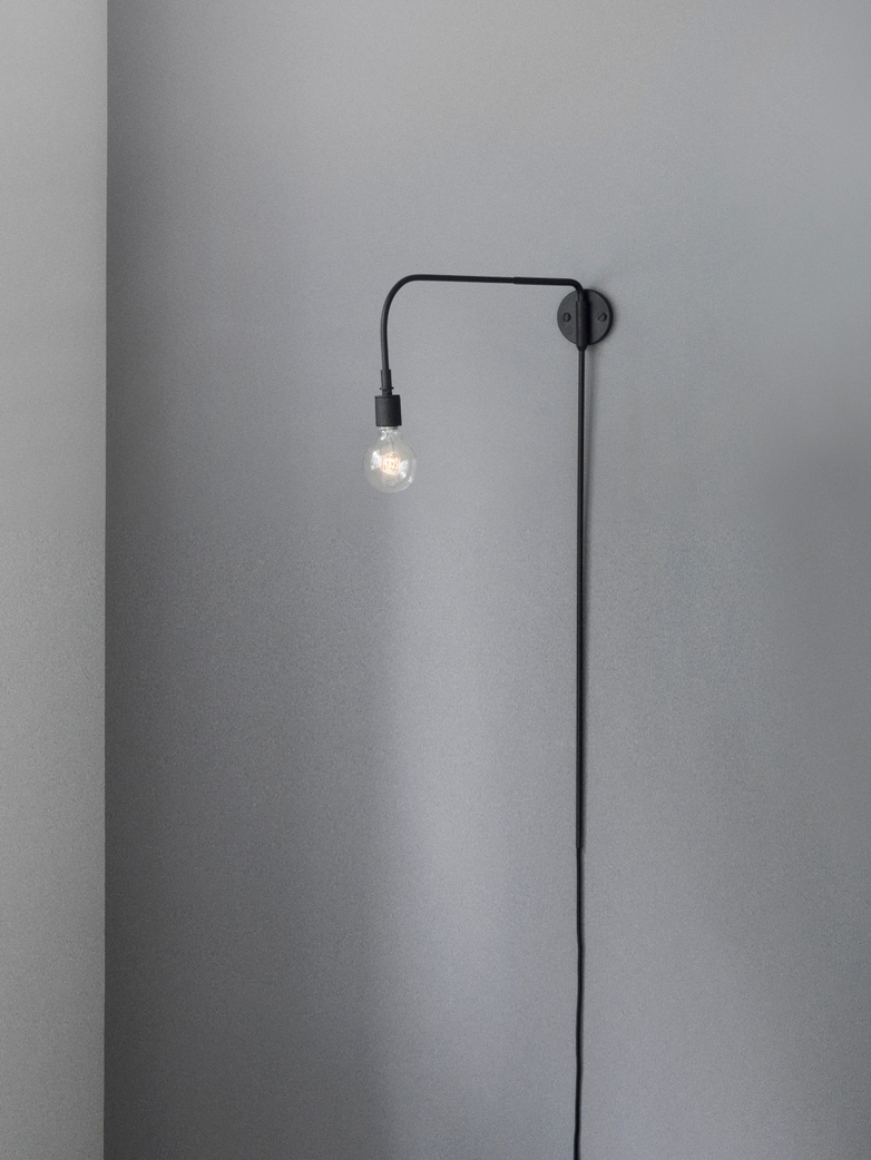 Tribeca Warren Wall Lamp - Black
