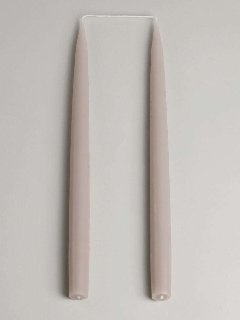 Tapered Candle – Linen Set of 2
