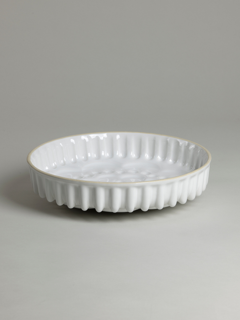 Pie Dish Mould – White