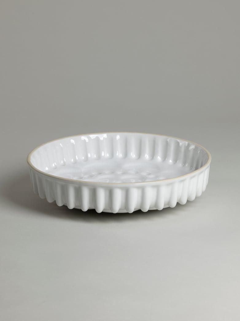 Pie Dish Mould – White