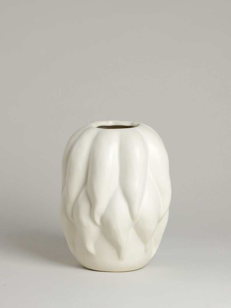 Ridley Vase – White – Small