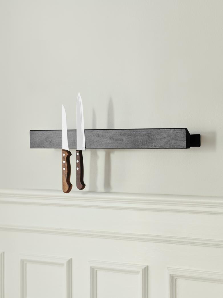 Flex Magnetic Shelf – 60 cm – Black Oak