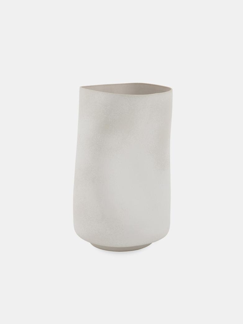 Wawe Vase – White