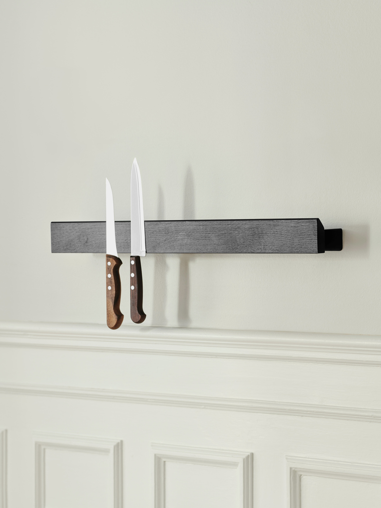 Flex Magnetic Shelf – 40 cm – Black Oak