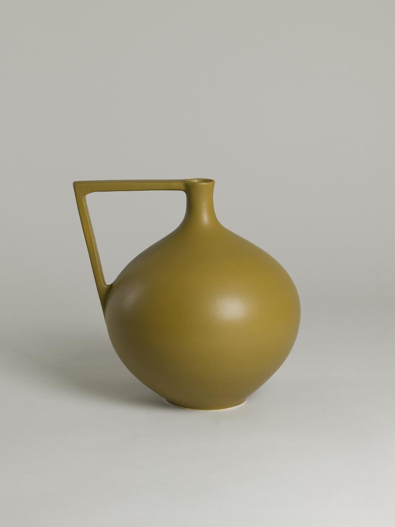 Ceramic Jar – Mustard