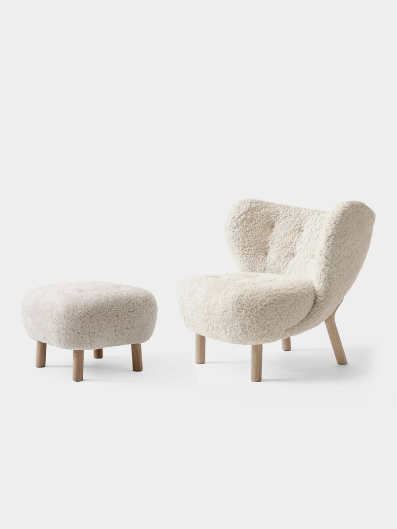 Little Petra incl pouf - Moonlight Oak