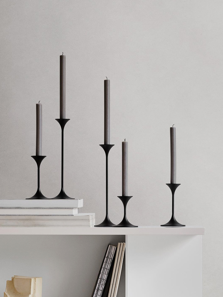Jazz Candleholder – Black