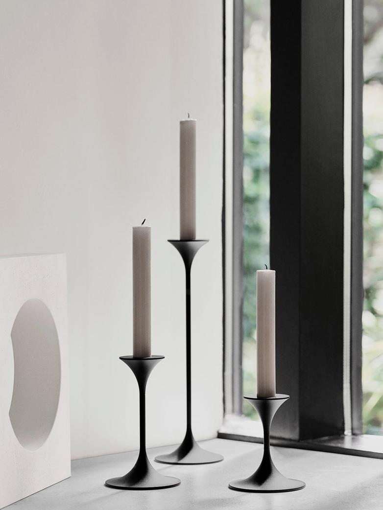 Jazz Candleholder – Black