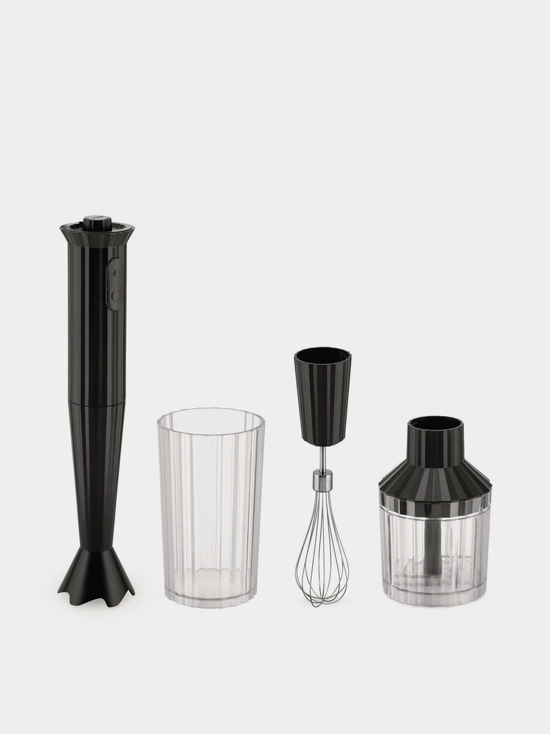 Plissé Hand Blender Set – Black