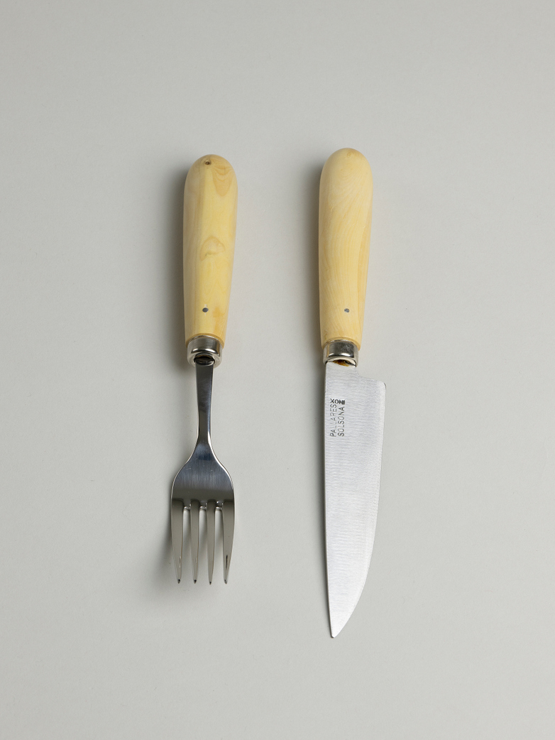 Pallarés Steak Serving Set – Boxwood