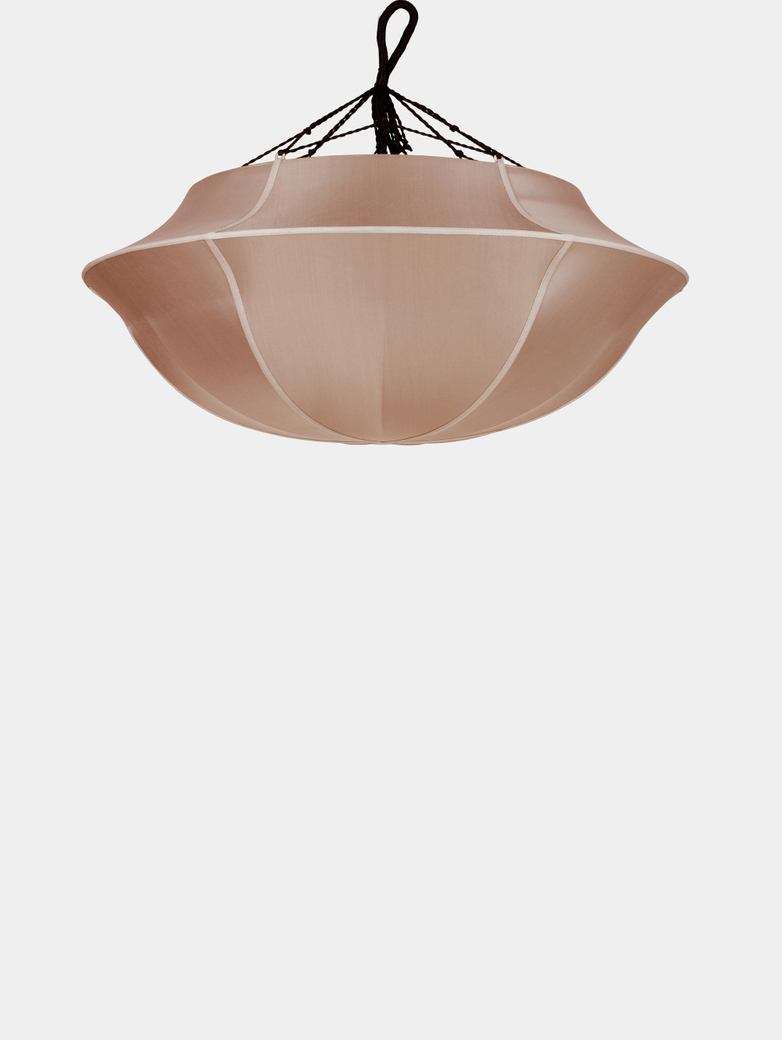 Bali Umbrella Silk Lamp – Rosebrown