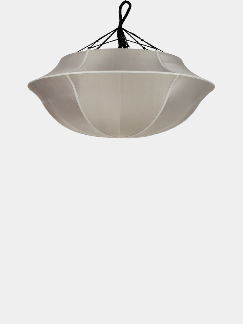 Umbrella Silk Lamp – Grey
