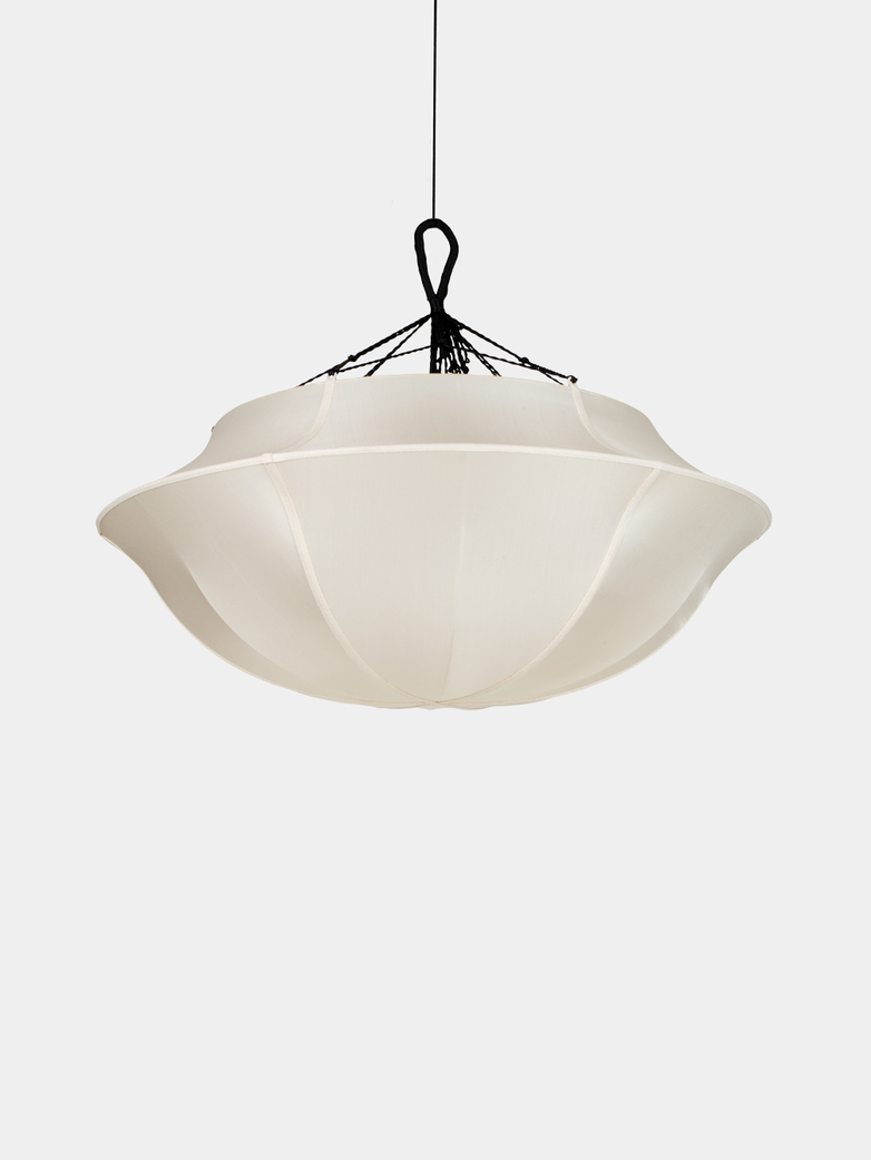 Umbrella Silk Lamp – Offwhite