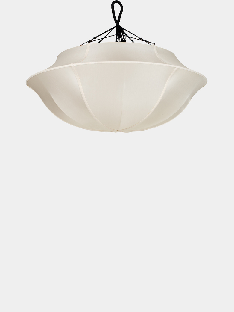 Umbrella Silk Lamp – Offwhite