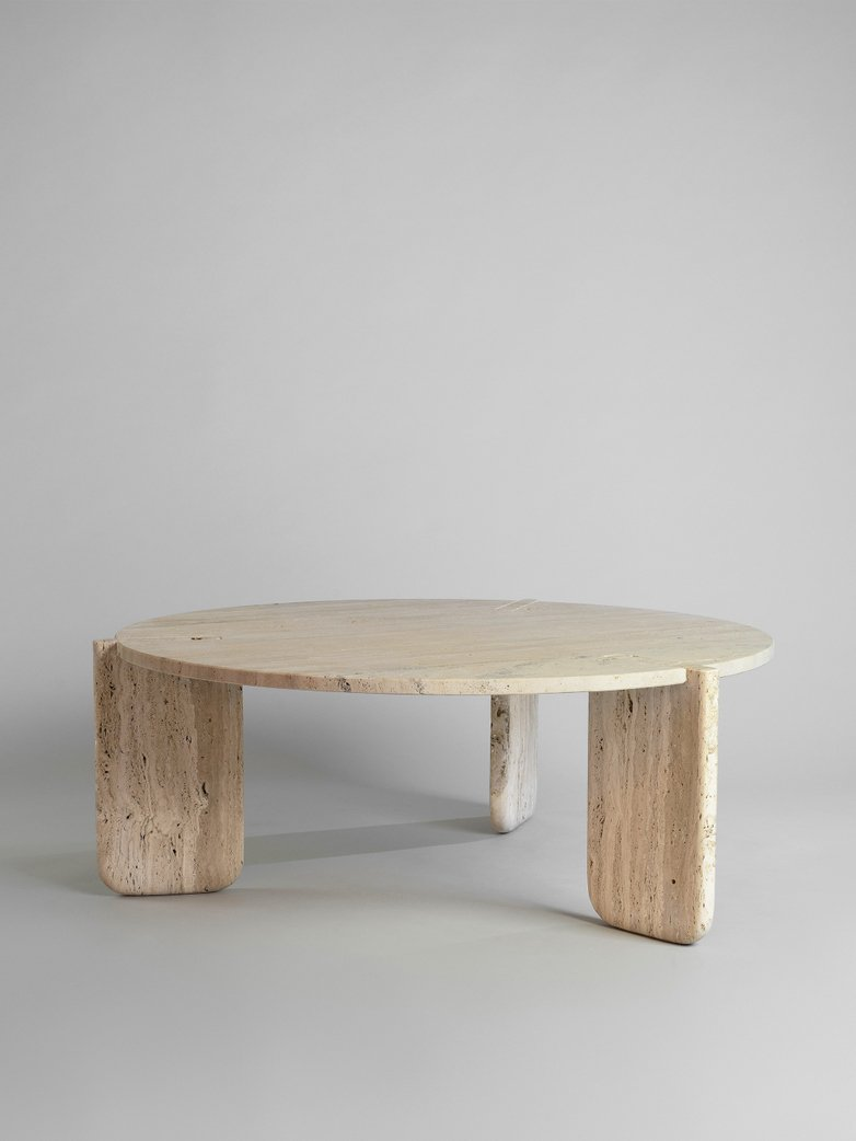 Roma Travertino Coffee Table - 90