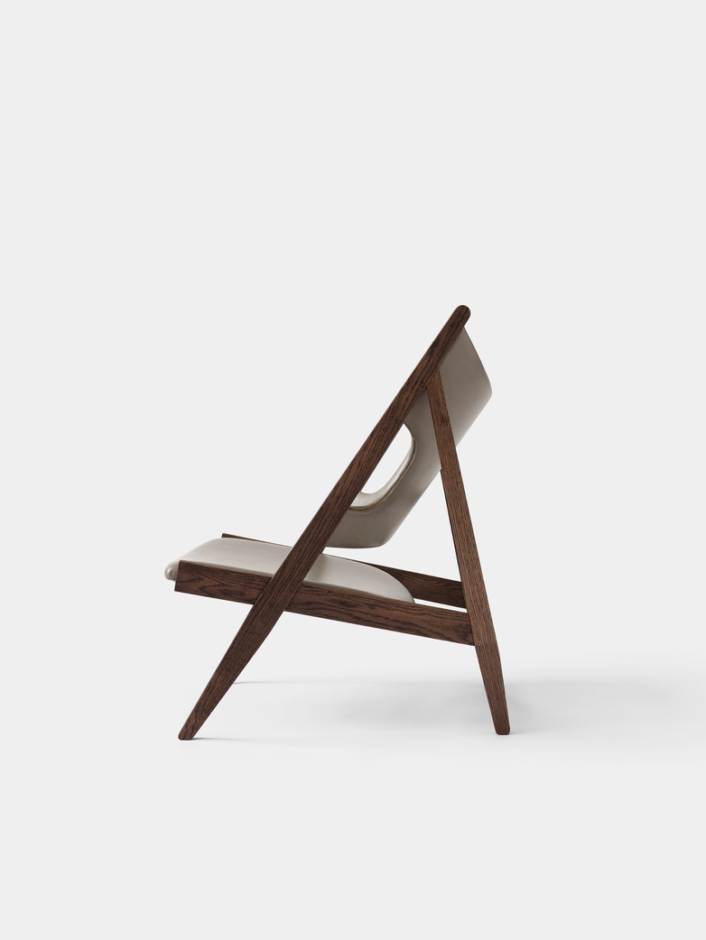 Knitting Lounge Chair - Dakar - Dark Stained Oak