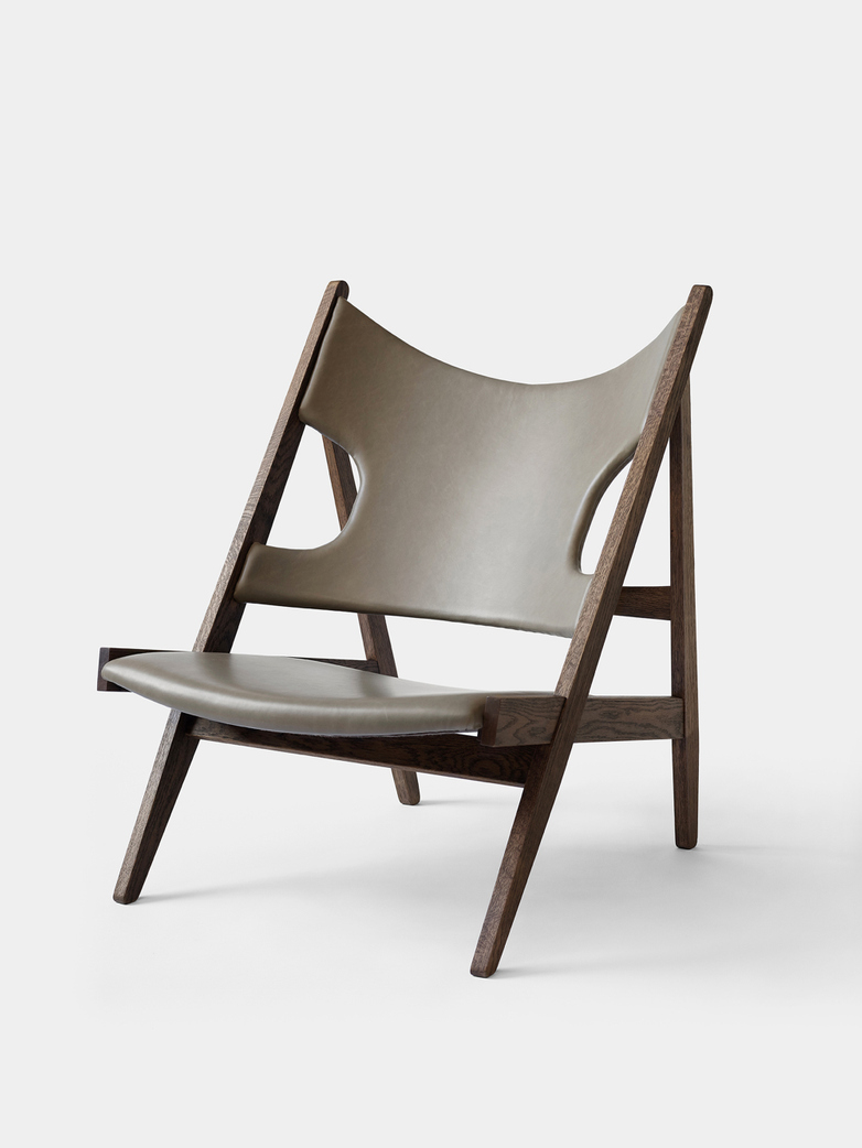 Knitting Lounge Chair - Dakar - Dark Stained Oak