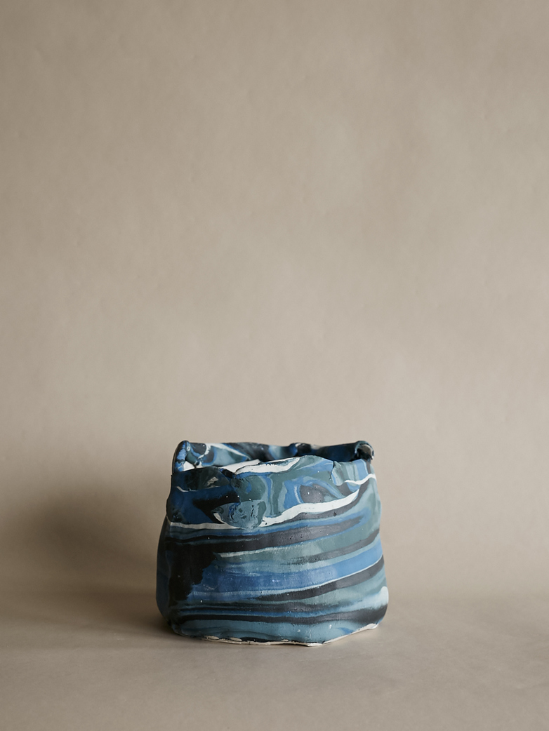 Artilleriet Art Collaboration - Faux Marble Pot I