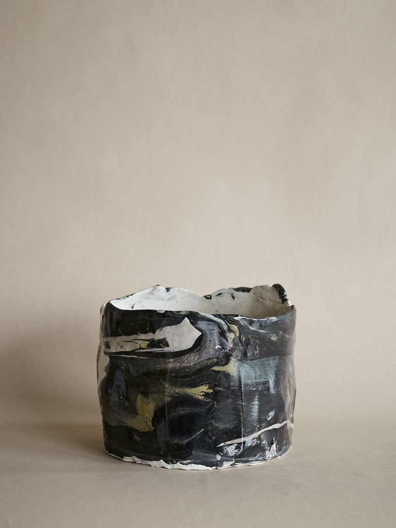 Artilleriet Art Collaboration - Faux Marble Pot II