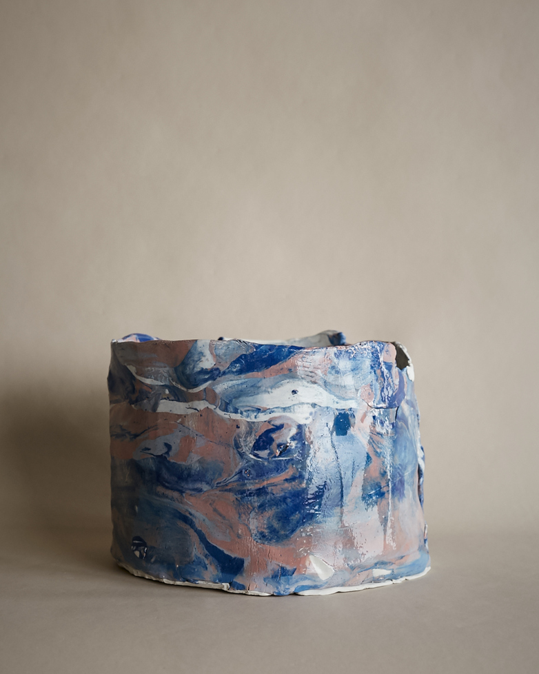 Artilleriet Art Collaboration - Faux Marble Pot III