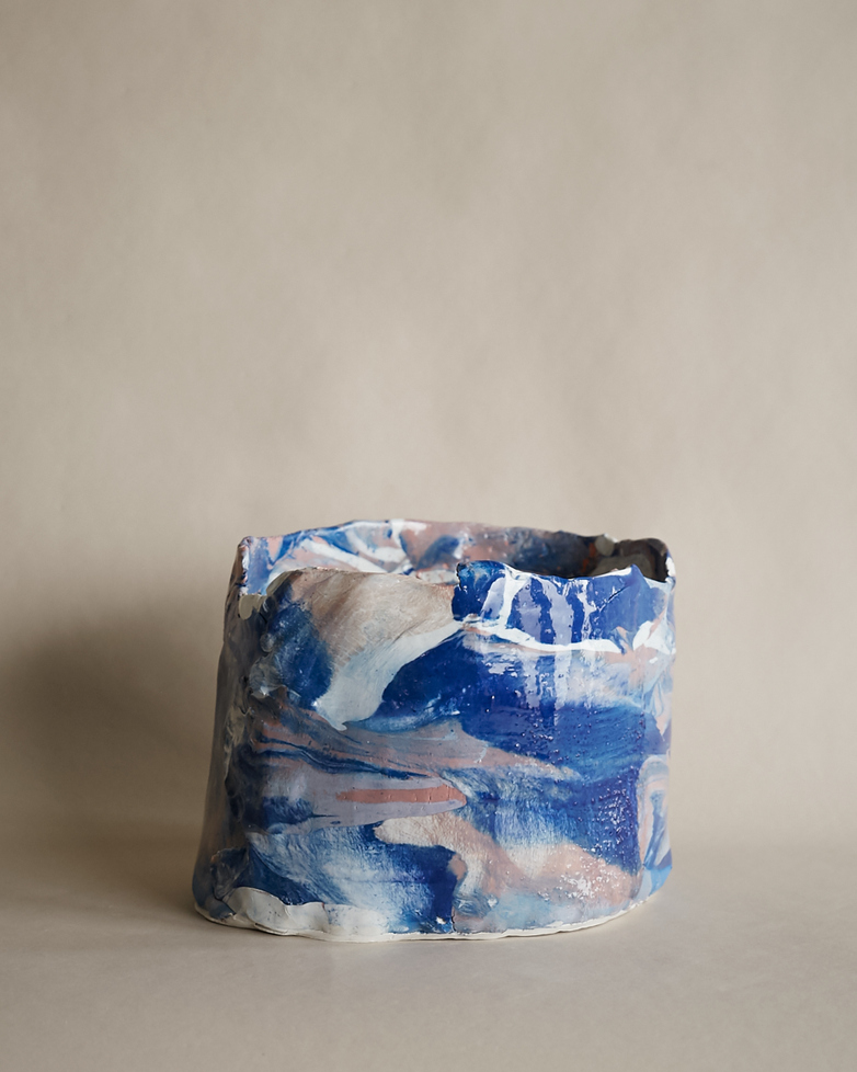 Artilleriet Art Collaboration - Faux Marble Pot III