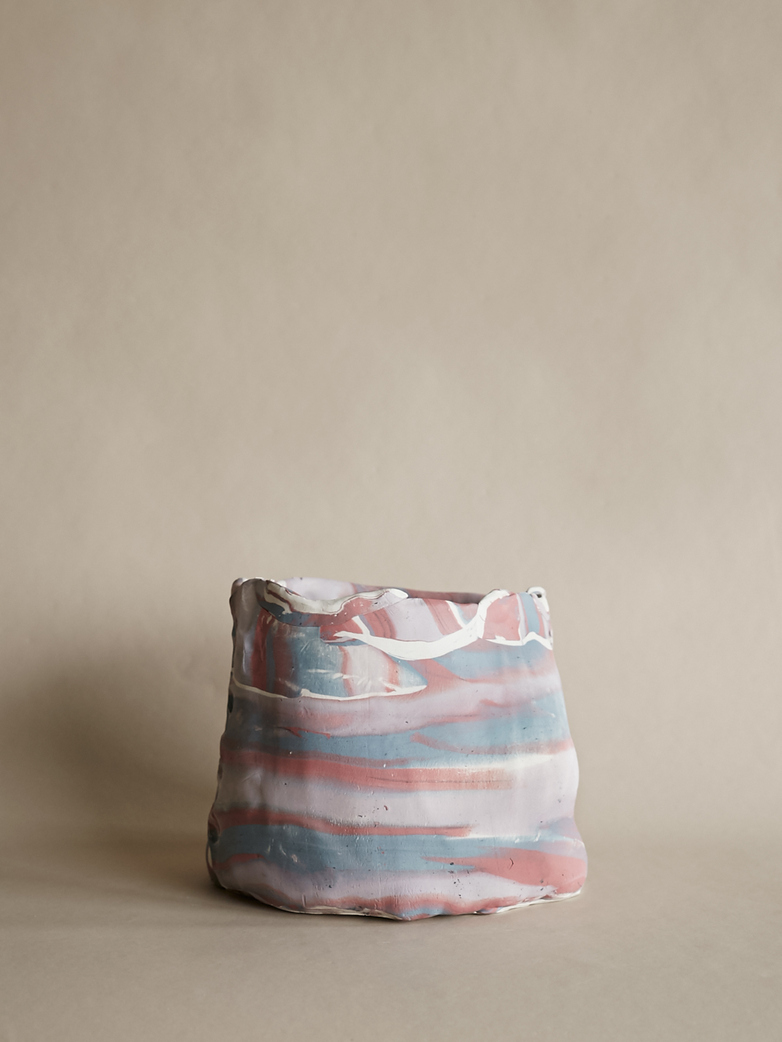 Artilleriet Art Collaboration - Faux Marble Pot IV