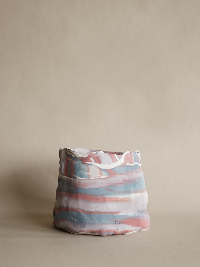Artilleriet Art Collaboration - Faux Marble Pot IV