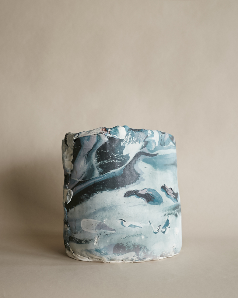Artilleriet Art Collaboration - Faux Marble Pot V