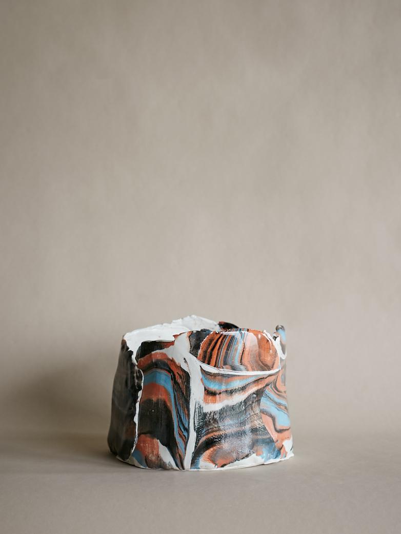Artilleriet Art Collaboration - Faux Marble Pot VI