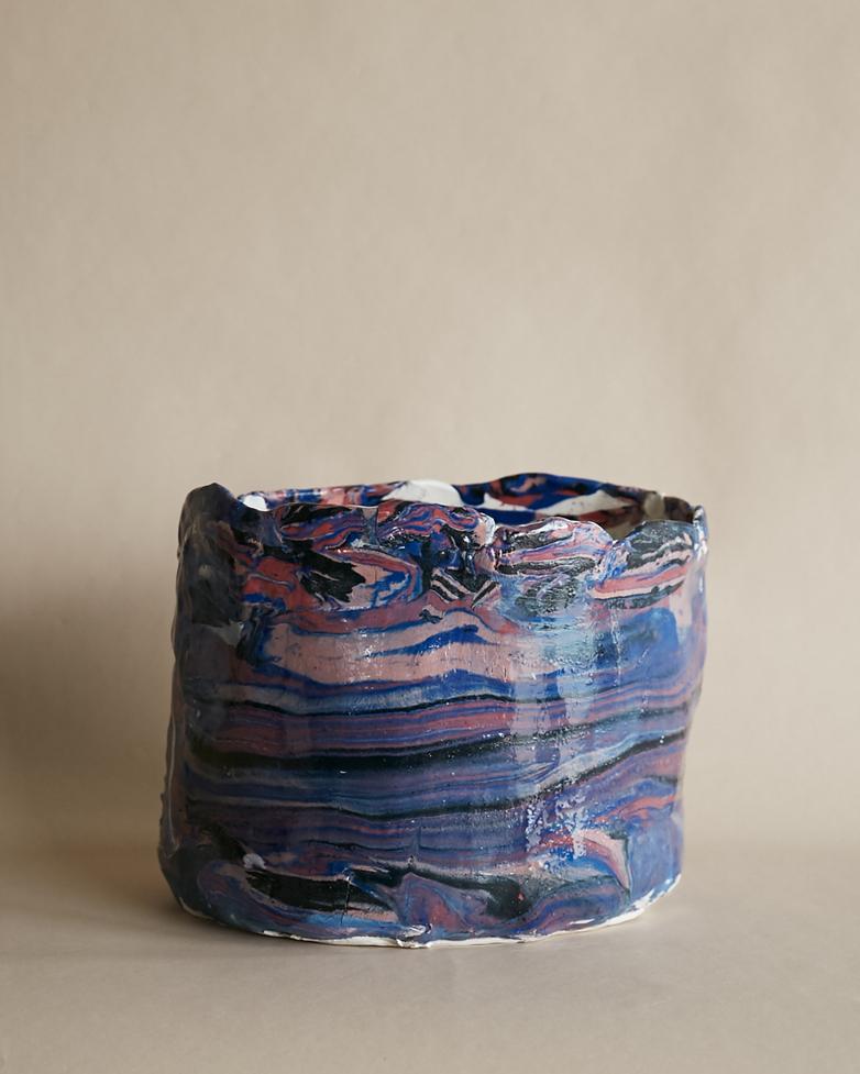 Artilleriet Art Collaboration - Faux Marble Pot VII