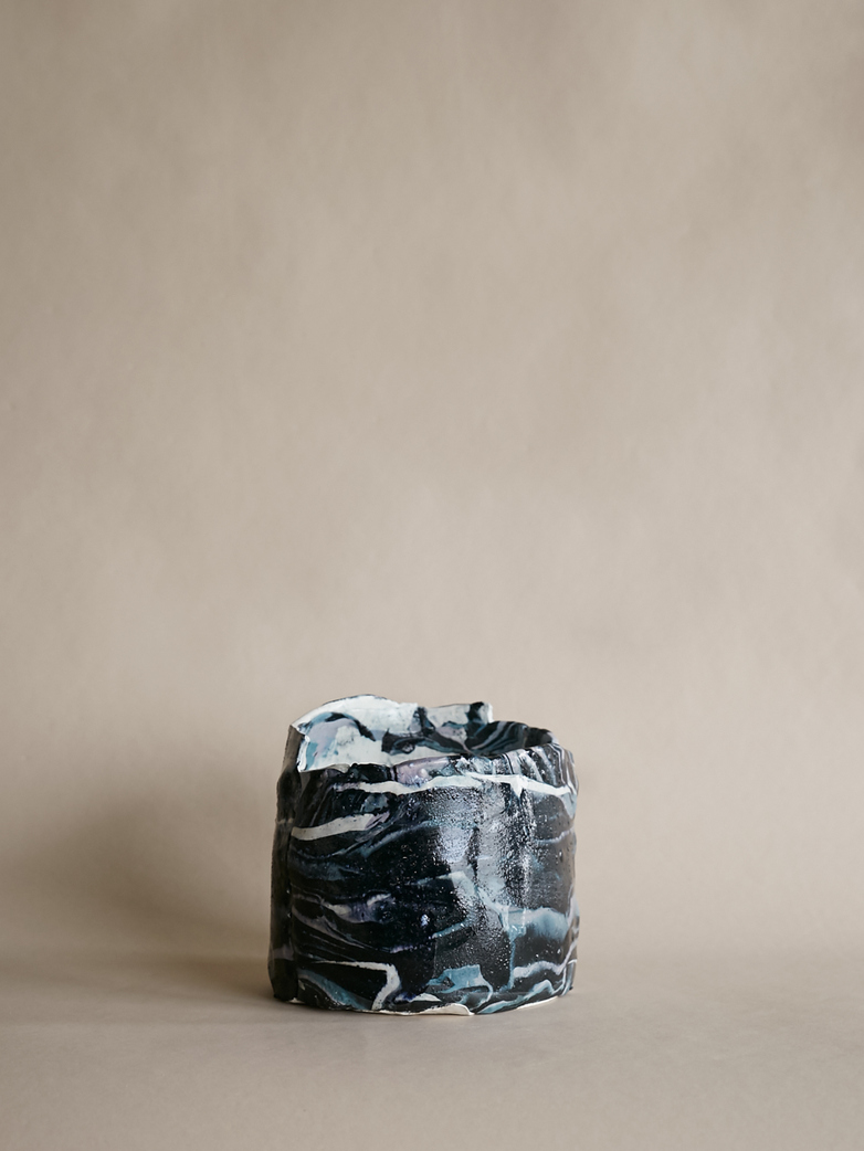 Artilleriet Art Collaboration - Faux Marble Pot VIII