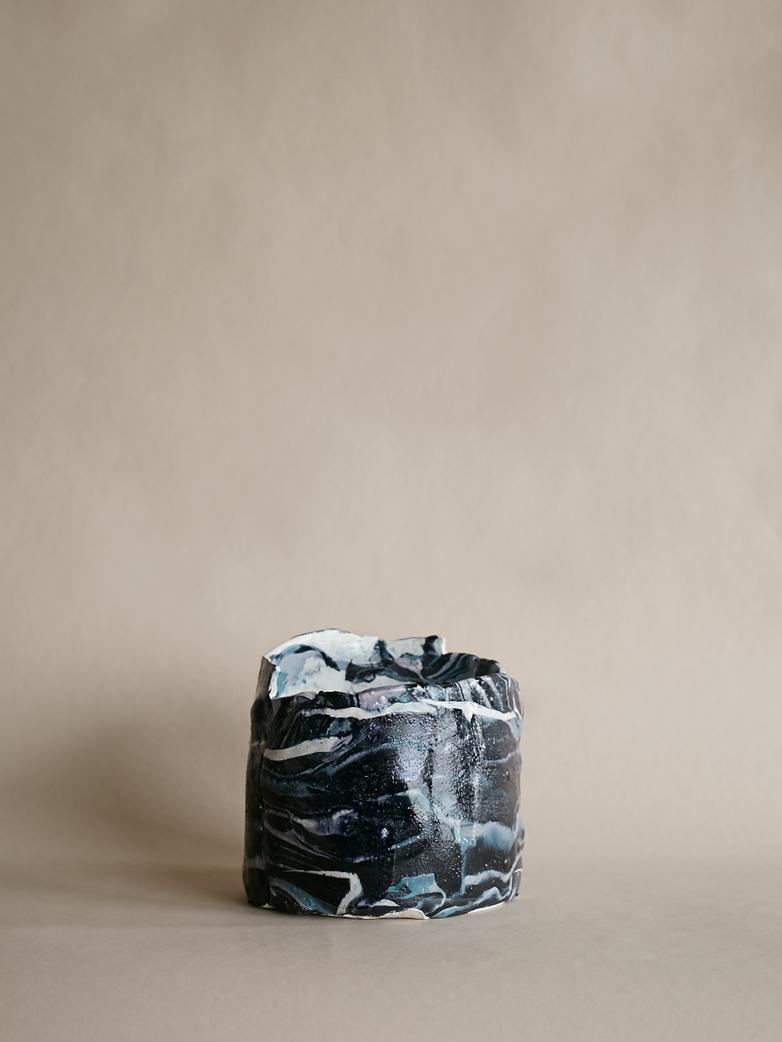 Artilleriet Art Collaboration - Faux Marble Pot VIII