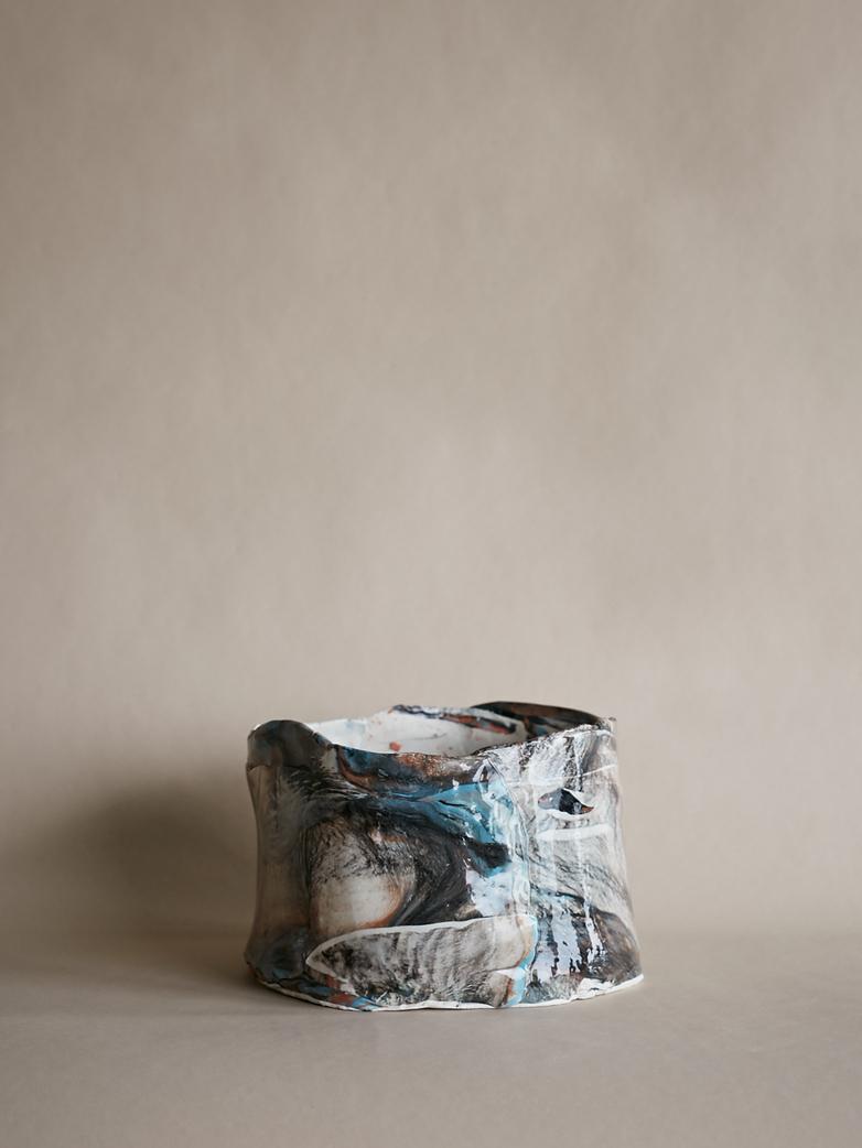 Artilleriet Art Collaboration - Faux Marble Pot IX
