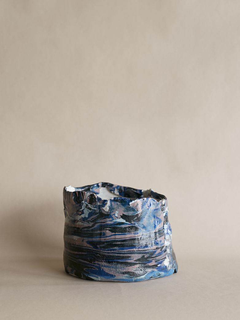 Artilleriet Art Collaboration - Faux Marble Pot XI