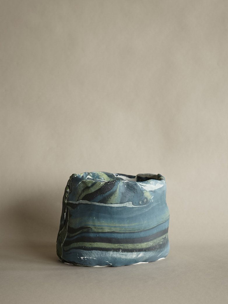 Artilleriet Art Collaboration - Faux Marble Pot XII