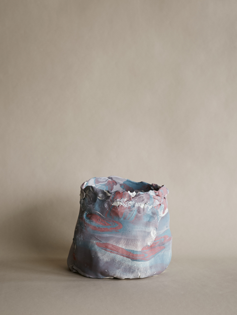 Artilleriet Art Collaboration - Faux Marble Pot XIII