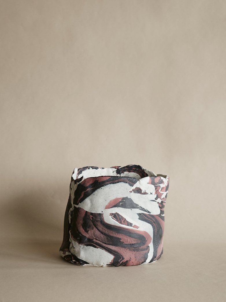 Artilleriet Art Collaboration - Faux Marble Pot XIV