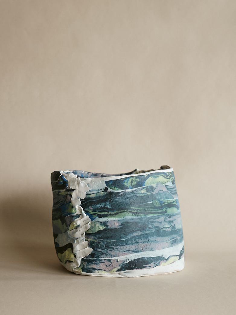 Artilleriet Art Collaboration - Faux Marble Pot XV