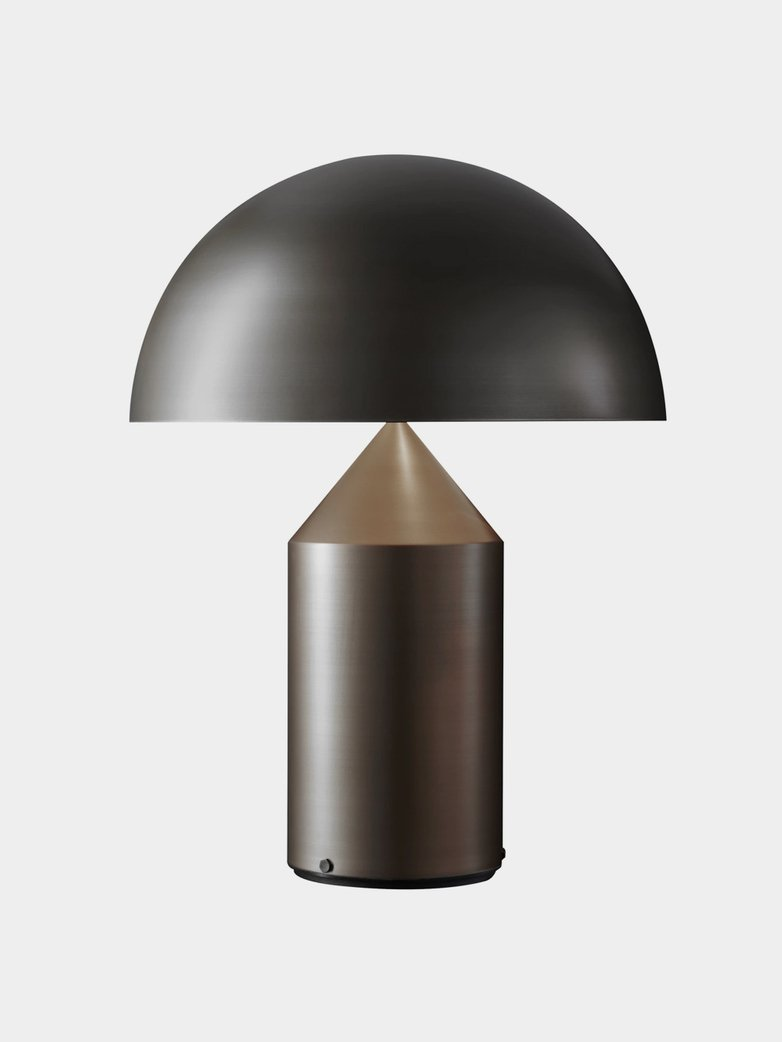 Atollo Table Lamp - Satin Bronze