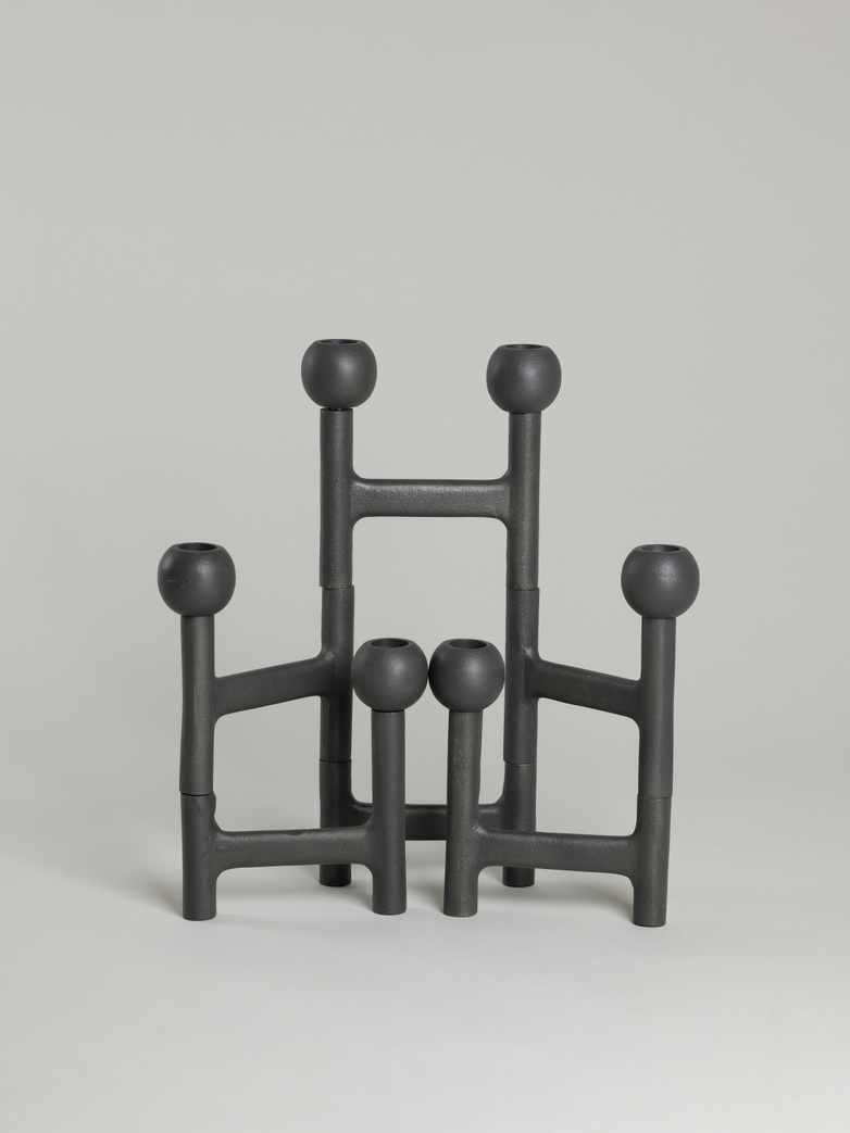 Folding Candle Holder – Graphite