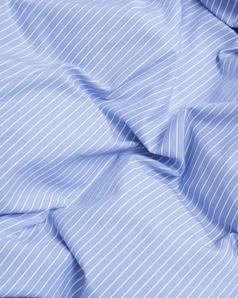 Wall Street Duvet Cover Oxford - Striped Light Blue