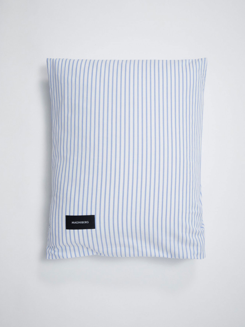 Wall Street Pillow Case Oxford - Striped White