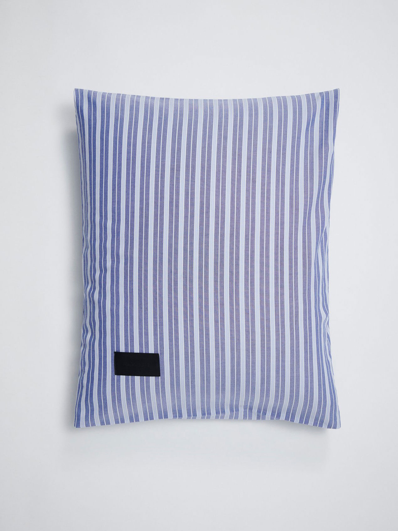 Wall Street Pillow Case Oxford 50x60 - Striped Medium Blue​