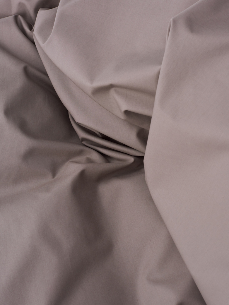 Pure Duvet Cover Poplin 150x210 - Mud
