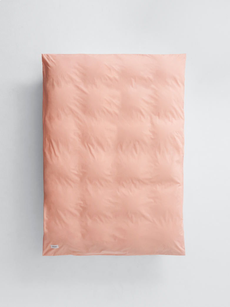 Pure Duvet Cover Poplin 240x220 - Peach